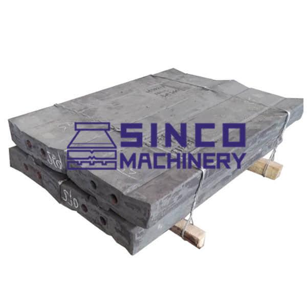 Impact crusher parts China brand